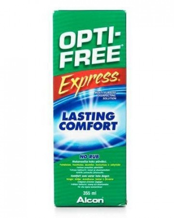 Optifree Express 355ml. linseveske