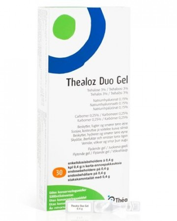 Thealoz Duo Gel øyedråper